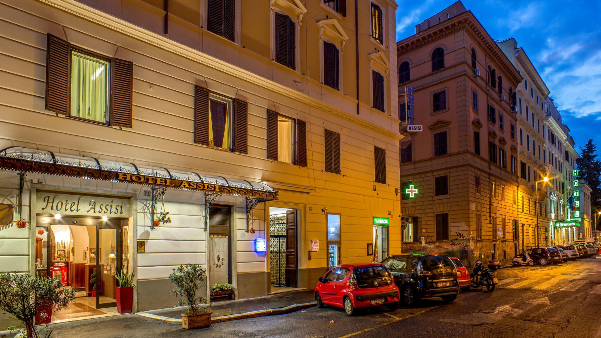 hotel assisi rome external 1